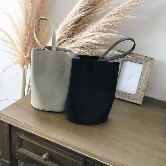 real leather bag (2color)