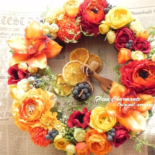 Vitamin Color Wreath