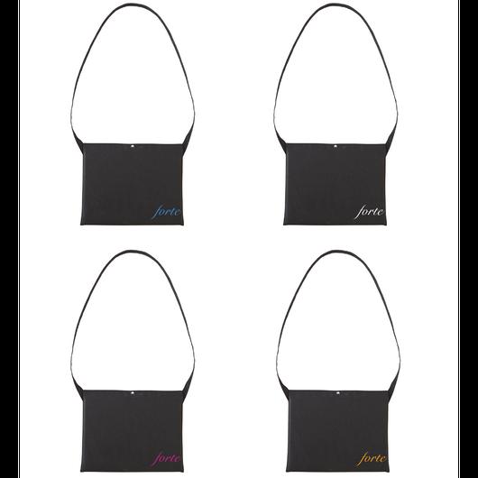 forte Mini Logo Sacoche (White/Pink/Blue/Orange)