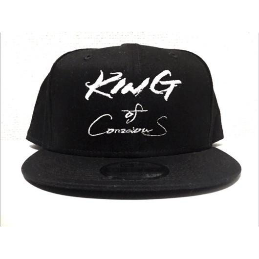 "NEWERA CUSTOM""King Of Conscious""CAP (9FIFTY-Snap Back Type)- 週末限定商品"