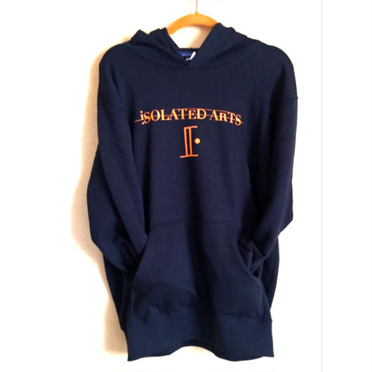 iSOLATED ARTS Rudie Hoodie (NAVY / ORANGE) 紐なしタイプ-General Price