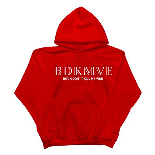 iSOLATED ARTS - BDKMVE HOODIE(RED)