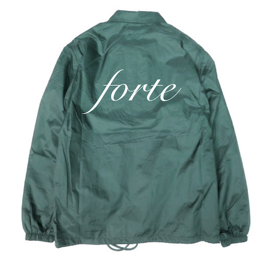 "forte official coach Jacket""orthodox""《裏ボア》DRK GREEN"