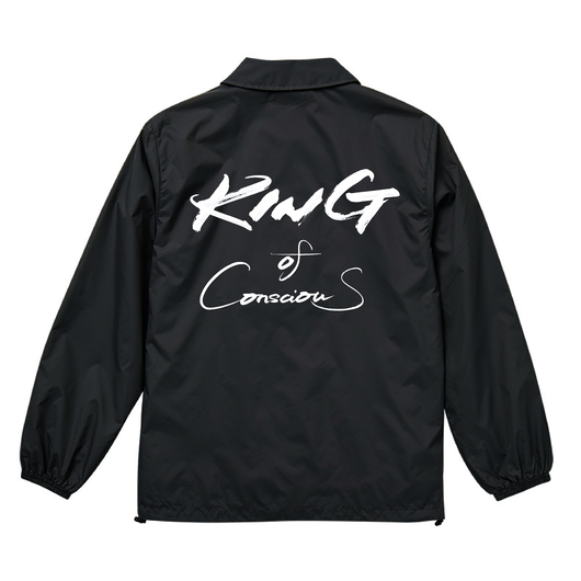 "【復刻】HAIIRO DE ROSSI""King Of Conscious""Coach Jacket(BLACK)"
