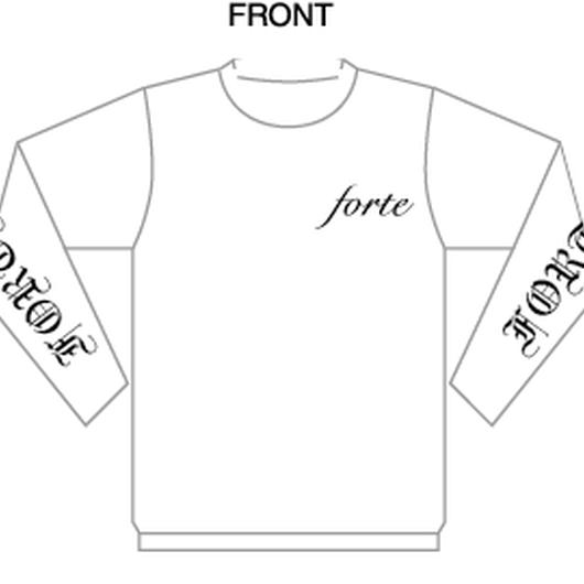 18SS forte Original Long Sleeve T-shirts(WHITE)