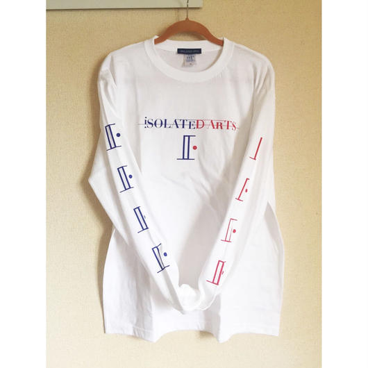 《World Series Vol.2》iSOLATED ARTS Tricolore L/S T-shirts《French》-White
