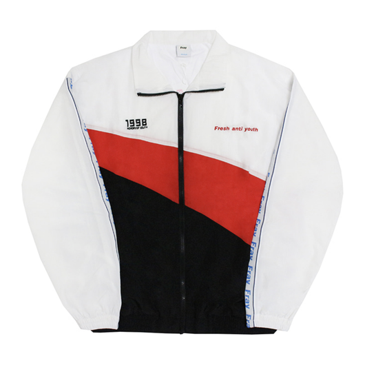 Wave Track-Jacket – White