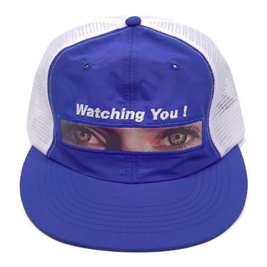 Watching you mesh cap -BLUE