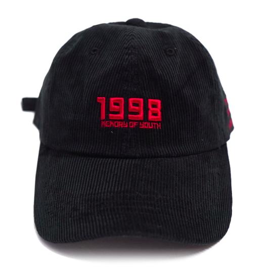 1998 Ball Cap – Black