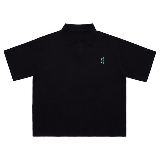 Over polo shirts-BLACK