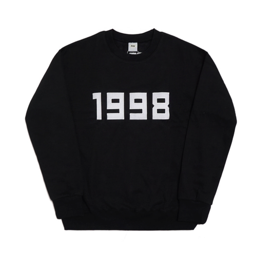 1998-Crewneck Sweater – Black