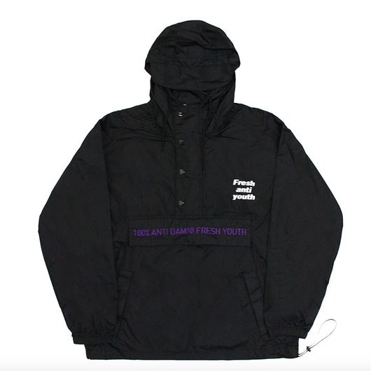 Anti Damn Anorak-Jacket – Black