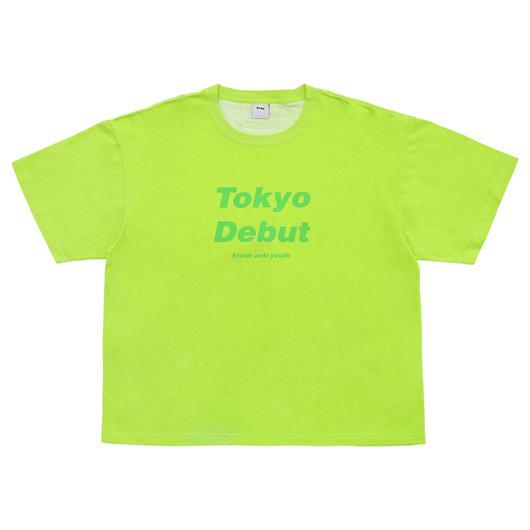Debut T-shirts-Neon Green