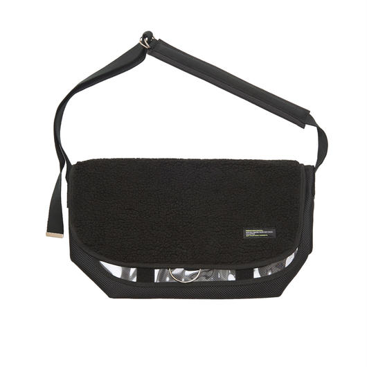 ANTI MESSENGER BAG BLACK