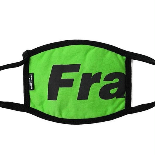Fray logo mask-green
