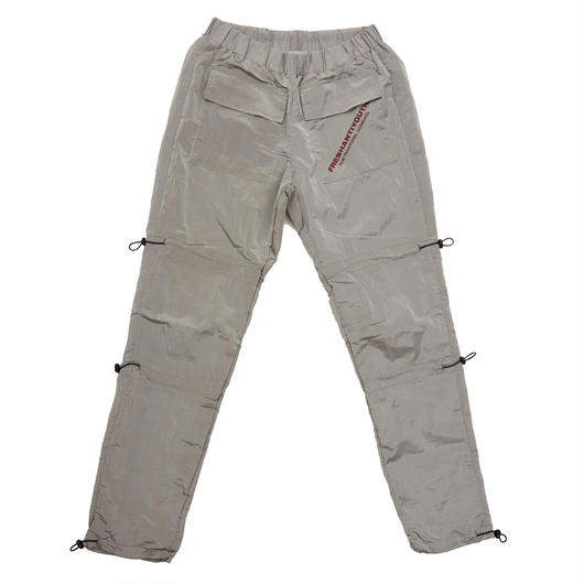 STRING WARM UP PANTS GRAY