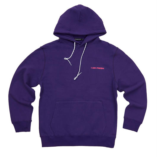 I AM FRESH FULLOVER HOODIE PURPLE