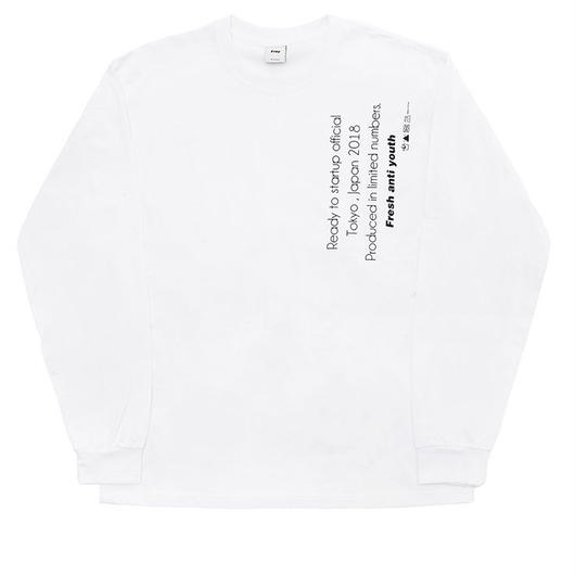 Reception Long sleeve-white