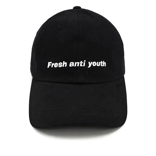 Fray logo ball cap- black