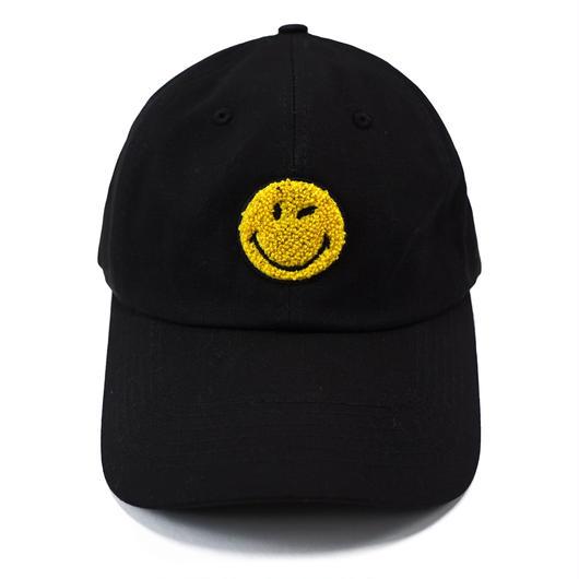 LOGO BASEBALL CAP-BLACK