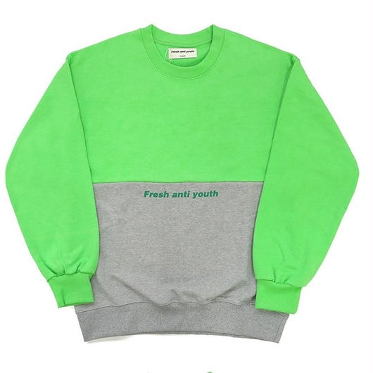 Half Sweatshirt-green