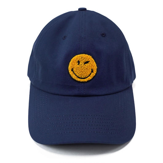 LOGO BASEBALL CAP-NAVY