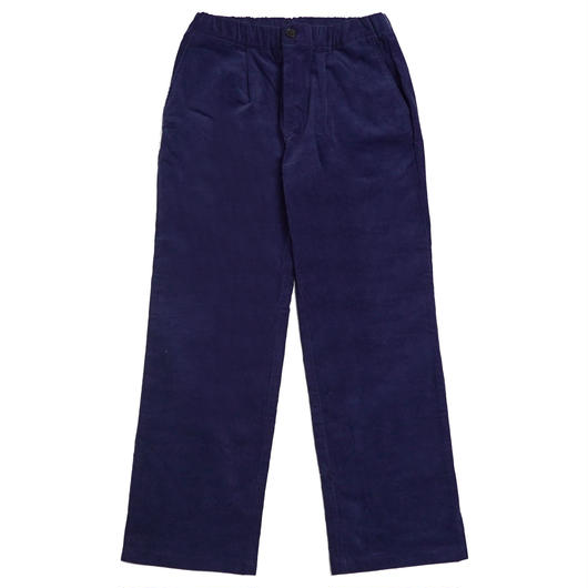 CORDUROY WIDE PANTS-NAVY