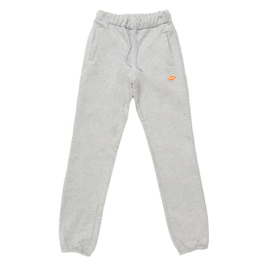 LOGO BASIC SWEAT PANTS GRAY
