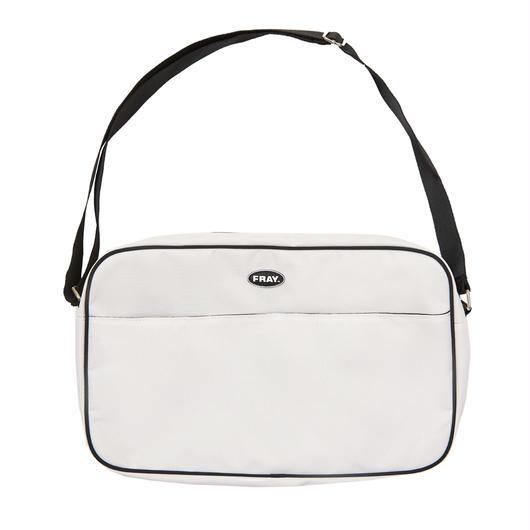 FRAY PIPNG SHOLDER BAG OFFWHITE