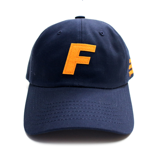 Fray Logo Ball Cap – Navy