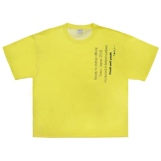 ReceptionT-shirts- yellow
