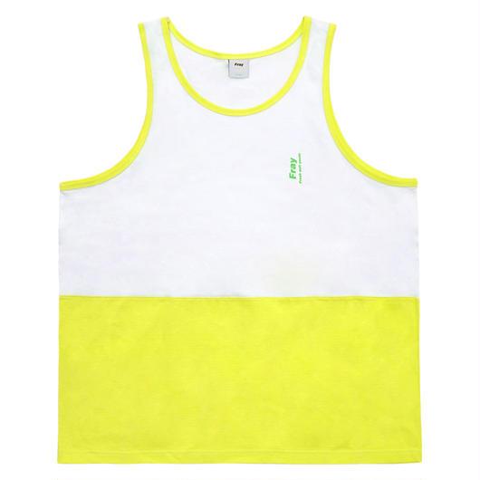 Half tank top-Neon