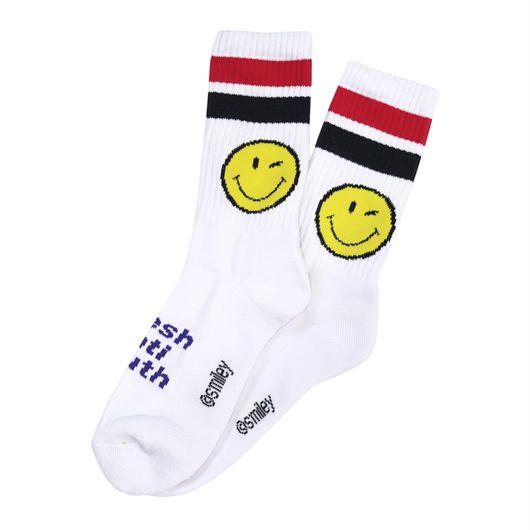 LOGO SOCKS-WHITE