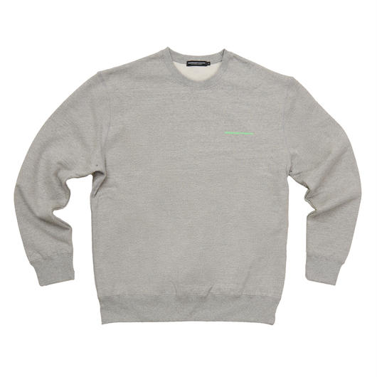 FRESH ANTI YOUTH  CREWNECK SWEATER GRAY