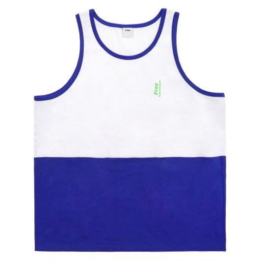 Half tank top-blue