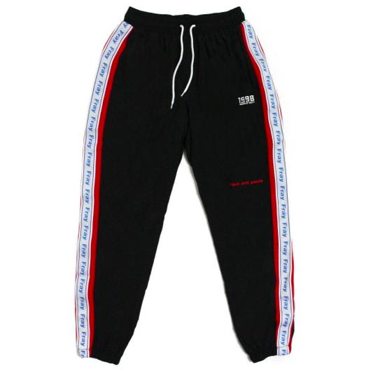 Wave Track-Pants – Black