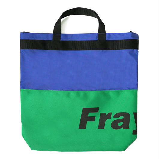 Fray logo 2way bag-GREEN