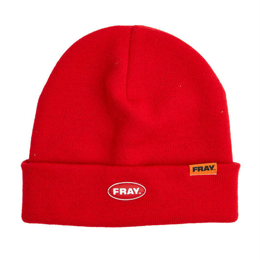FRAY BEANIE  RED