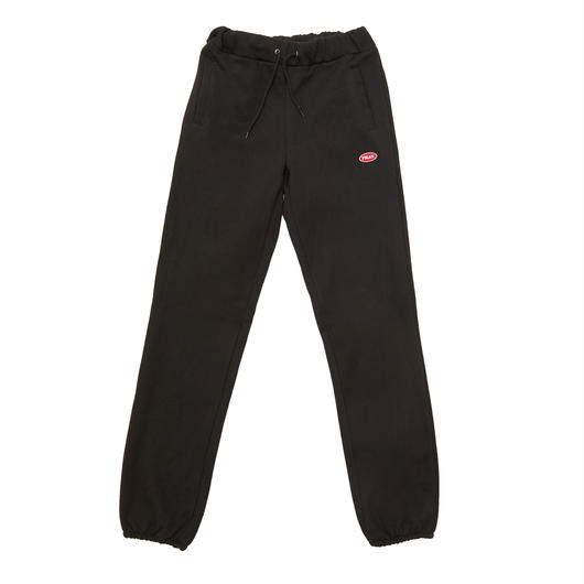 LOGO BASIC SWEAT PANTS BLACK