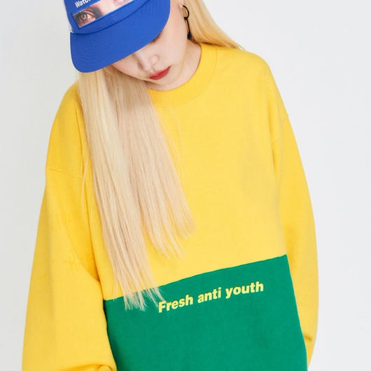 Half Sweatshirt-yellow