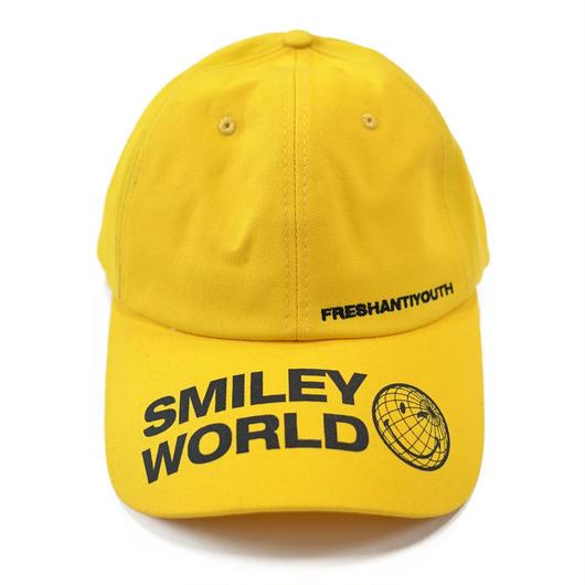 SMILEY WORLD BASEBALL CAP-YELLOW