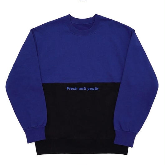Half Sweatshirt-blue