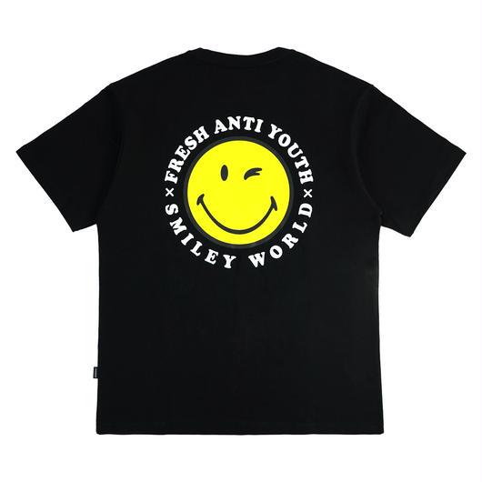 ANTI SMILE T-SHIRTS-BLACK