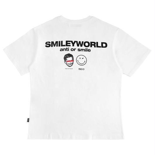 SMILEY WORLD T-SHIRTS-WHITE