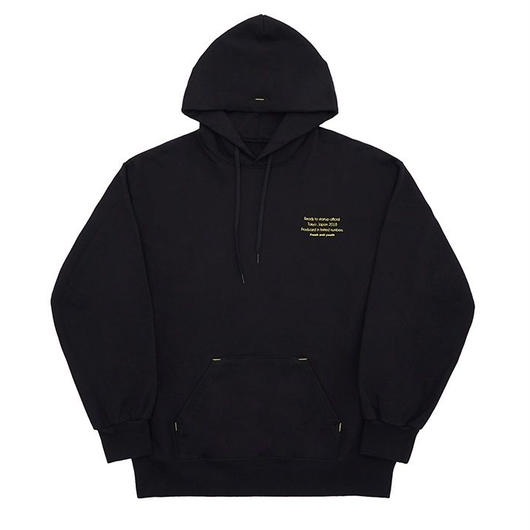 Reception Hoody-black