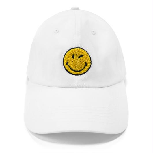 LOGO BASEBALL CAP-WHITE
