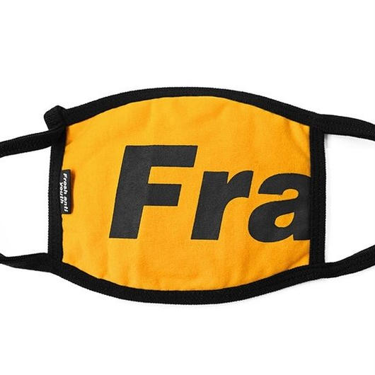 Fray logo mask-yellow