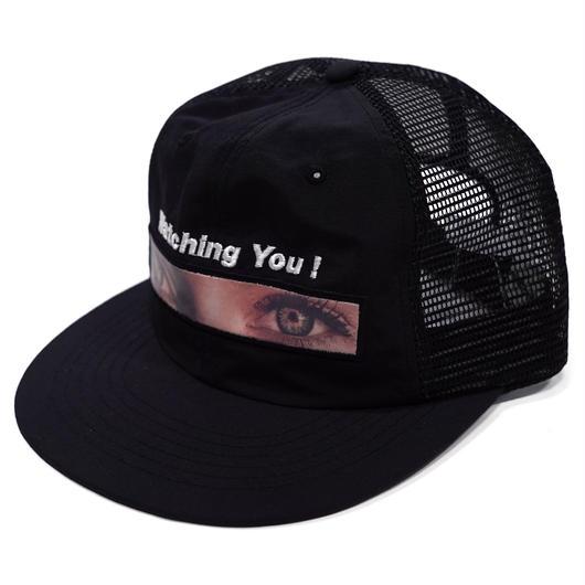 Watching you mesh cap -BLACK