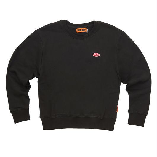 LOGO CREWNECK SWEATER BLACK
