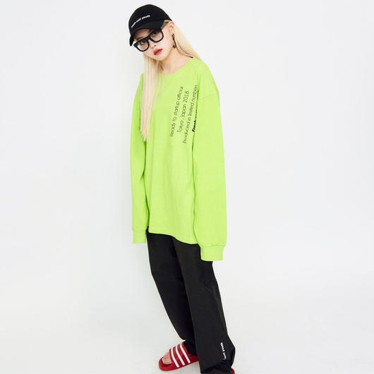 Reception Long sleeve-NeonGreen